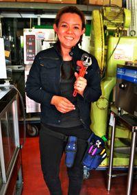 女性の開店 資格得て応援/厨房設備施工技能士1級合格/佐和田さん 県内女性初