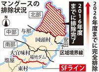 マングース捕獲大幅減、ヤンバルクイナの生息域拡大 2017年度国・沖縄県事業