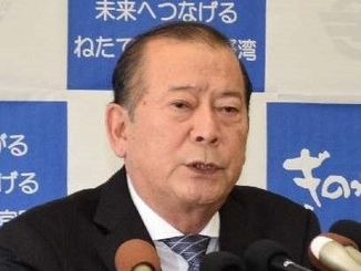 松川正則・宜野湾市長
