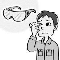 こすらず、早めの受診を~角膜・結膜異物 沖縄県医師会編「命ぐすい耳ぐすい」(1073)