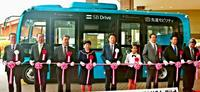 日本版GPS活用、バス自動運転 沖縄で安定走行検証