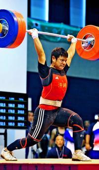 <いわて国体>新垣悠太、重量挙げで3位 成年男子77キロ級
