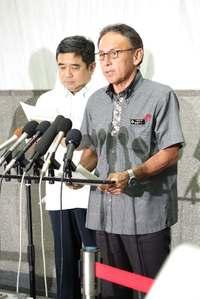 「知事選で示された民意を踏みにじるものだ」 玉城デニー沖縄知事、国の対抗措置に憤り