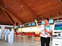 下地島空港は風通しよい省エネ構造 宮古第2の空の玄関口、旅客ターミナル30日開業