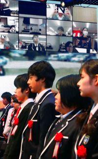 VRで入学式「参列」/うるまのN高、東京開催