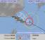 10日午前10時現在の台風8号の進路予想図(気象庁HPから)