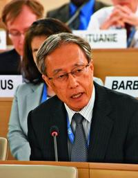 「表現の自由守る意志ないのでは…」 国連人権理事会でNGOから懸念 日本政府はケイ氏に反論
