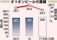 オリオンビール増収増益 ホテル事業が好調 2016年度決算