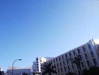 2月22日の那覇市内
