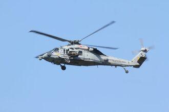 (資料写真)MH60ヘリ