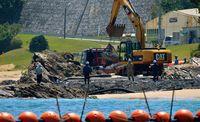 「承認撤回の材料に」「那覇空港となぜ違う」 辺野古で抗議の市民、海上作業再開を批判