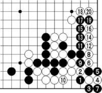 [第43期・碁聖戦]/本戦1回戦 第12局/第2譜/(29〜43)