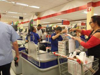 マイペースなスーパーのレジ