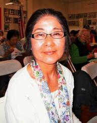 アメリカで看護師として活躍する北米沖縄県人会文化部の前部長、下地のり子さん