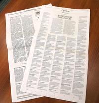 米上院、メディア攻撃非難 「報道の自由」尊重訴え