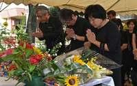 「傷はいまだに癒えない」 米軍機墜落、18人犠牲の悲劇から59年 沖縄・宮森小で慰霊祭