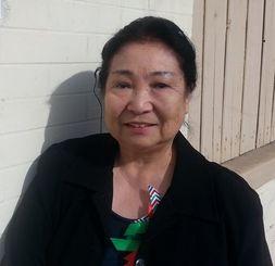 北米沖縄県人会の理事として活躍する島美恵子さん=ガーデナ市の県人会館