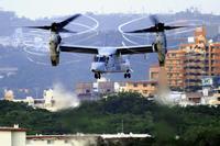 沖縄県、米軍機低周波音の影響調査へ 国に環境基準なく、策定求める資料に
