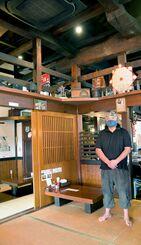 築130年の日本家屋が温かい雰囲気をつくる「古民家(こみや)食堂」=南風原町大名