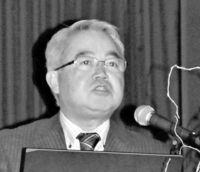 県産果樹 安定供給がカギ/南城で営農研究会 JA松田さん強調