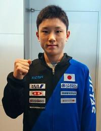 男子日本代表、世界卓球に出発 張本「向かっていく」