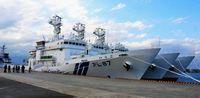 尖閣の領海警備に新巡視船3隻 年度内に計10隻専従に