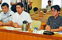 新基地賛否「県民投票で意志明確に」請求者、意義を強調 沖縄県議会・軍特委