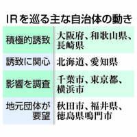 IR整備法案:成立見据え誘致本格化 根強いカジノへの懸念