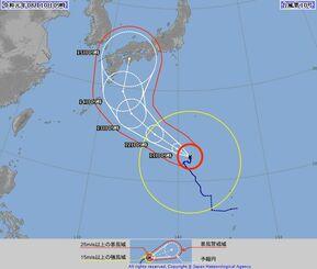 台風 10 号 進路