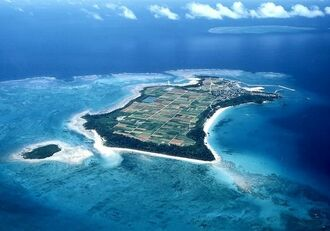 (資料写真)沖縄県の津堅島