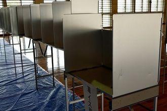 (資料写真)投票所