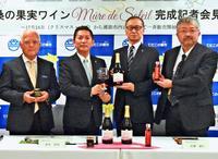 沖縄産の桑の実×北海道の技術、甘いワインになりました 限定100本販売