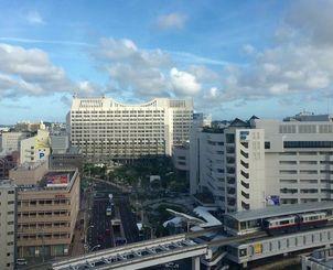 本土復帰から44年を迎えた沖縄は晴れています