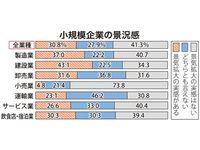 好況感「実感なし」、小規模企業の4割 沖縄公庫調査