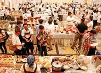 旬な食品、幅広く提案 イバノ商談会に102社出展