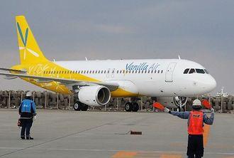 (資料写真)バニラエアの航空機