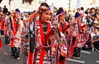 商売繁盛と豊年を願う「旧廿日正月」 華やかな琉装と演舞 那覇