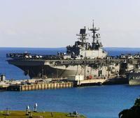 米軍艦、海に汚水15万リットル捨てる 2015年 トイレ・医務室からか