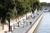 パリ中心部、車全面禁止も 市長、段階導入図る