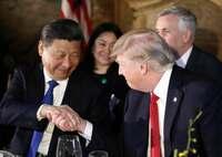 """中国が""""縁故外交""""、トランプ氏と異例の早期会談 緊密な日米首脳に焦り"""