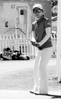 上原、飛距離伸び手応え/きょう米女子ゴルフメジャー初戦/34歳、6度目の大舞台
