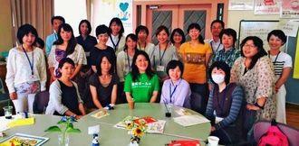 防災ガールが運営を支援している三重県鈴鹿市の自主防災コミュニティー(防災ガール提供)