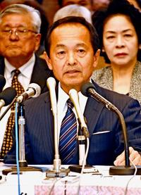 再編交付金「受け取る」 自公推薦の渡具知氏、名護市長選の政策発表