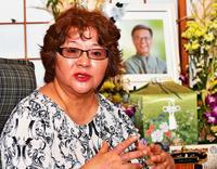 「翁長はデニーさんの明るさを見ていた」 妻樹子さんが語る沖縄知事選