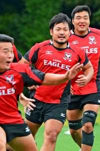 ラグビー日本代表、東恩納寛太を招集 キヤノンのプロップ