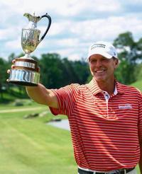 ゴルフ、ストリッカー通算4勝目 米シニア