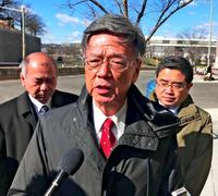 翁長知事、沖縄の負担軽減要請も… 米政府担当者「日本側の問題」