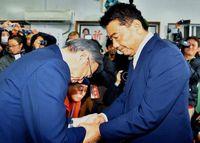 大勝の波紋 宜野湾・市政継続(2)「オール沖縄」すきま風、遅かった結束