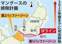ヤンバルクイナなどの希少種、回復傾向に 沖縄本島北部でマングース910頭捕獲