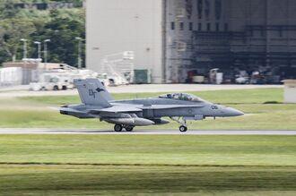 FA18戦闘機(資料写真)